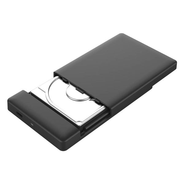Orico 2.5 Inch USB 3.0 Type-C Hard Drive Enclosure SATA HDD / SSD UASP 10Gbps Portable Black