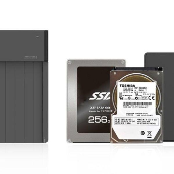 Orico USB 3.0 Hard Drive Docking Station für 2,5 und 3,5 Zoll HDD und SSD SATA-Laufwerke