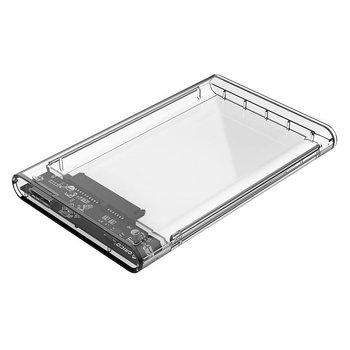 Orico Harde Schijf Behuizing 2,5 inch / Kunststof / Transparant / HDD / SSD / USB3.0