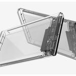 Orico Hard Drive Enclosure 2.5 inch / Plastic / Transparent / HDD / SSD / USB3.0