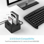 Orico Dual Bay SATA to USB 3.0 External HDD Docking Station with duplicate / clone function