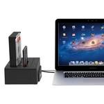 Orico Dual Bay SATA zu USB 3.0 externen HDD Docking Station mit doppelter / Klon-Funktion