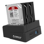 Orico 3 Bay SATA naar USB 3.0 Extern HDD Docking Station met duplicate / clone functie