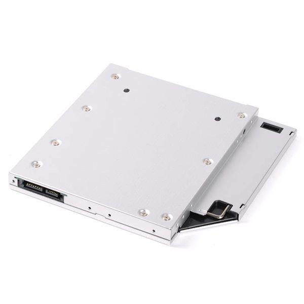 Orico Aluminium Notebook dur interne de montage Adaptateur support pour ordinateur portable Bay optique 12.7mm