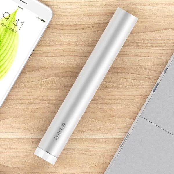 Orico Aluminium USB3.0 Hub 7 ports - Compatible avec le type A et de type C - Incl. Adaptateur -Laptopstand - VIA Chip - 5Gbps - Mac Style - Argent
