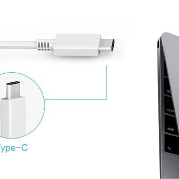Orico Aluminum USB3.0 hub with 4 Type-A ports - Type-C & Type-A -5Gbps - VIA contoller - Silver