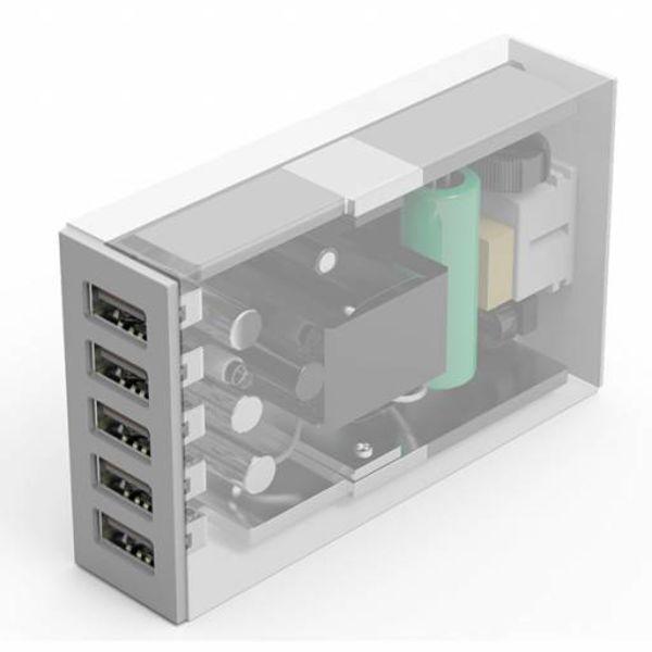 Orico 5 Chargeur USB Port Smart Desk - Blanc