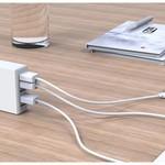 Orico 5 Port USB Smart Desk Charger - Wit