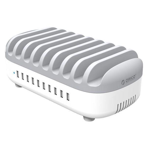 Orico 120W chargeur multi dock 10 Port USB Station de recharge