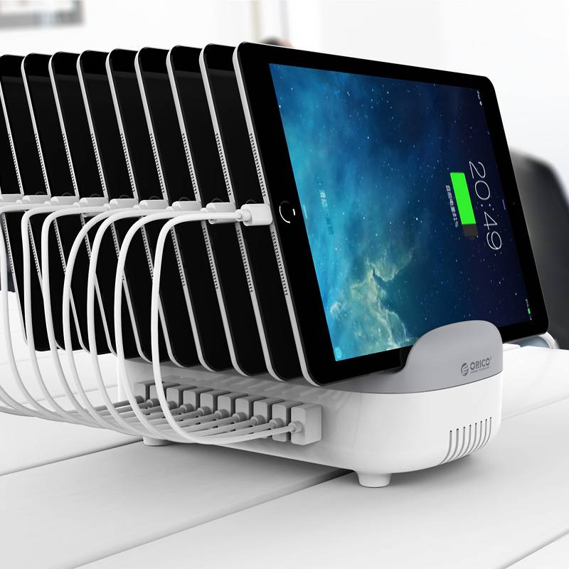 Orico 120w Multi Charger Docking Station 10 Port Usb Charging