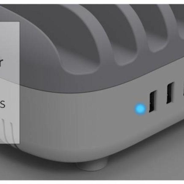 Orico 120W Multi-Ladegerät Dock 10-Port USB-Ladestation