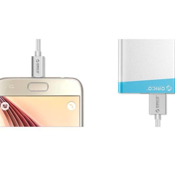 Orico 1 meter sterke 3A Micro USB data en oplaadkabel Voor Smartphones & Tablets
