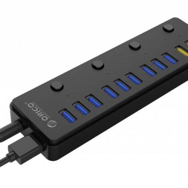 Orico 12 ports multi functional USB 3.0 hub with BC 1.2 charging ports