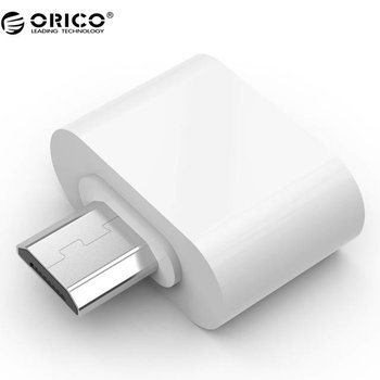 Orico Micro USB OTG adapter - white