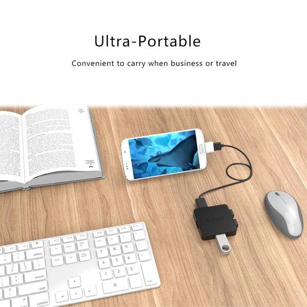 Orico Micro-USB-OTG-Adapter - weiß