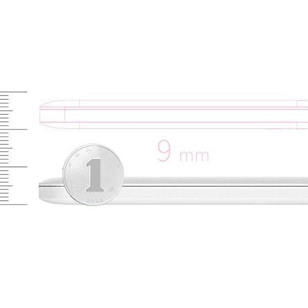 Orico 5000mAh Energien-Bank-Gebühr 2.4A Smart Lipo einschließlich Kabel Akku weiß