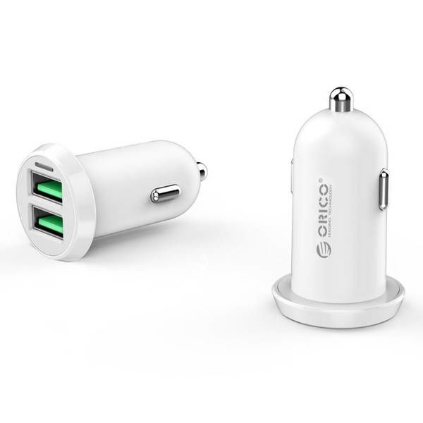 Orico 17W USB double chargeur intelligent voiture Charge rapide 2.0 12 - 24V