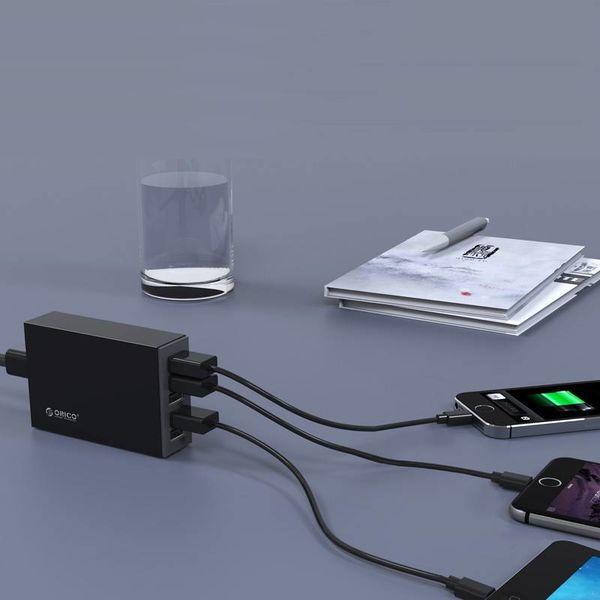 Orico 5 Port Smart USB Chargeur de bureau 8A / 40W - Noir