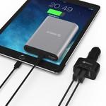 Orico Chargeur de voiture avec 3 ports - Charge rapide 2.0 Noir