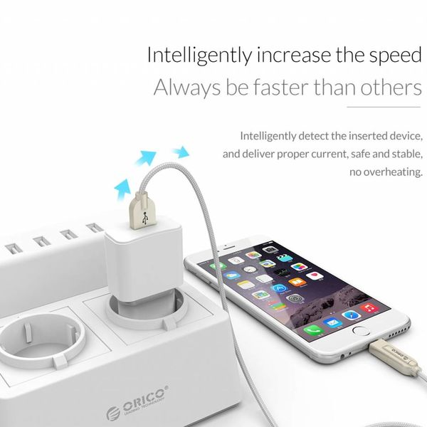 Orico USB wall charger mini home charger compact travel charger 2A / 10W - White