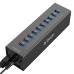Orico 7 Port USB 3.0 Hub mit 12V Netzteil