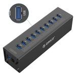 Orico 10 Port USB 3.0 Hub avec adaptateur secteur 12V