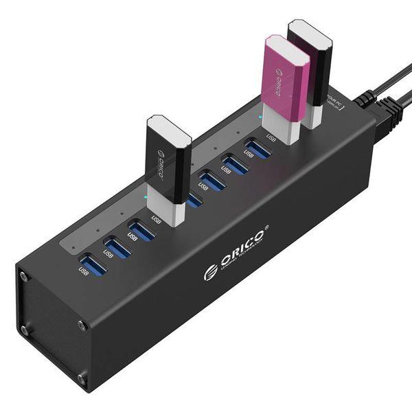 Orico 10-Port USB 3.0 Hub mit 12V Netzteil