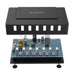 Orico hub USB3.0 avec sept ports de type A - Adaptateur individuel - noir