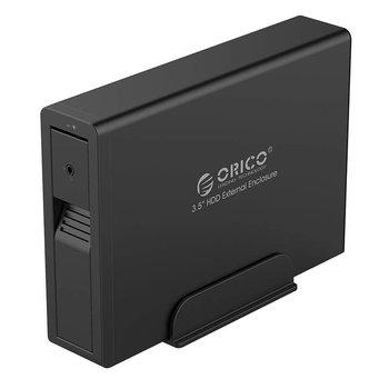 Orico 3.5 inch harde schijf behuizing -met slot - USB3.0 - zwart