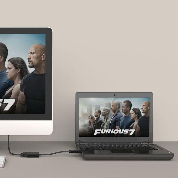 Orico Displayport-auf-DVI-Adapter - 17cm - schwarz