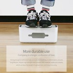 Orico Multifunctionele stekkerdoos beschermer – Smartphonehouder - Kabelmanagement – Extra veiligheid voor Kinderen/Huisdieren – Warmtebestendig ABS-materiaal – Wit/Grijs
