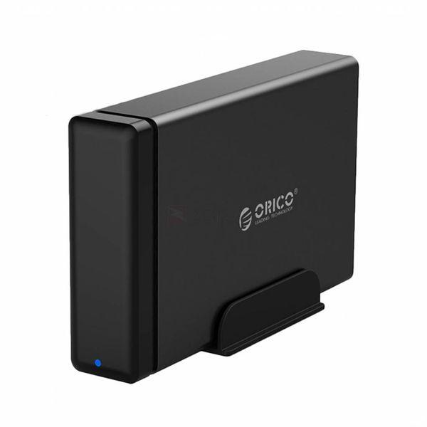 Orico magnétique de type C Boîtier de disque dur - 3,5 pouces station d'accueil pour disque dur SATA / SSD - noir