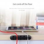 Orico Fünf multifunktionale Kabelhalter in verschiedenen Farben - 3M - Kabel bis zu 5 mm dick
