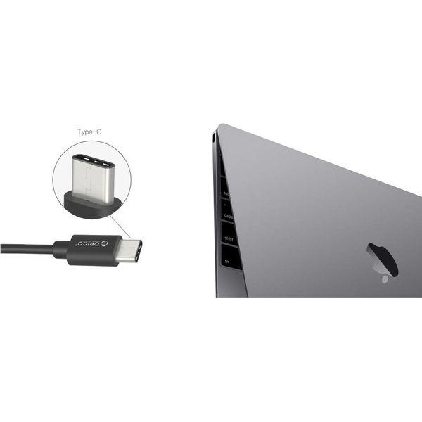 Orico Hub USB 3.0 connecteur de type C - 4 x type A USB3.0 port - noir