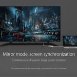 Orico Aluminium Typ-C-zu-VGA-Adapter - Full HD - für MacBook Air Mi Notebook-, Huawei-Mate Facebook- und Lenovo YOGA - Mac Style - 15CM Kabel - Silber