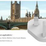 Orico World Travel Charger mit 4x USB3.0 Ports - Inkl. EU / UK / AUS-Anschluss tips - 34W - Weiß