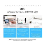 Orico USB3.0 Hub with 4 USB3.0 type-A ports - 5Gbps - 100CM Data Cable - OTG Function - for Windows, Linux and Mac OS - Black