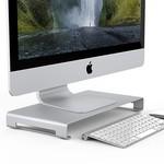 Orico Laptop / Desktop-Ladegerät - Hochwertiges Aluminium - Mac Style - Für eine gute Körperhaltung und einen organisierten Schreibtisch - Silber