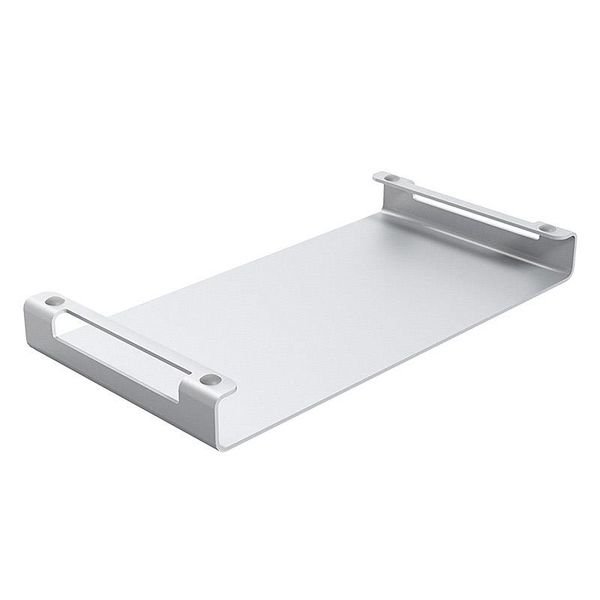 Orico Laptop / Desktop Holder - High-quality Aluminum - Mac Style - For a good body posture and an organized desk - Silver