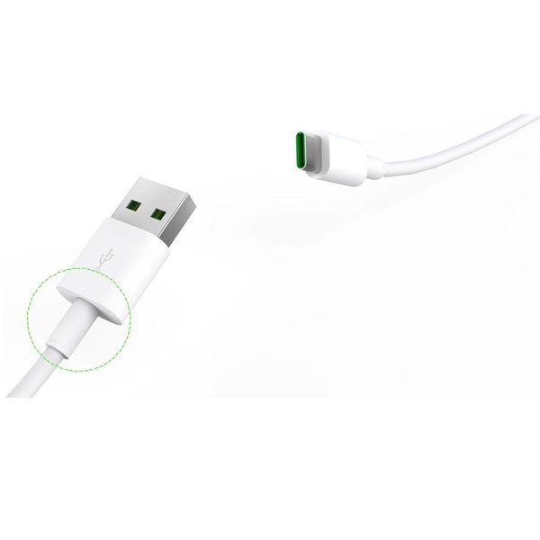 Orico Leistungsstarke Typ-C-Ladekabel - 5A - Fast Charge und Sync - 1 Meter - Weiß