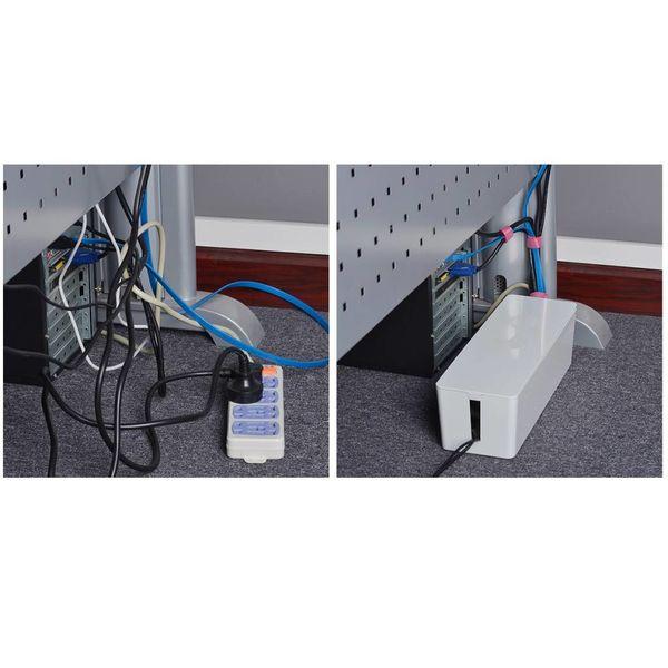 Orico Protecteur prise Compact - Management - Sécurité supplémentaire pour les enfants / Animaux - Matériau résistant à la chaleur ABS