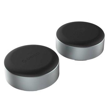Orico Aluminium supports pour ordinateurs portables / Laptopverhoger - Noir / Argent