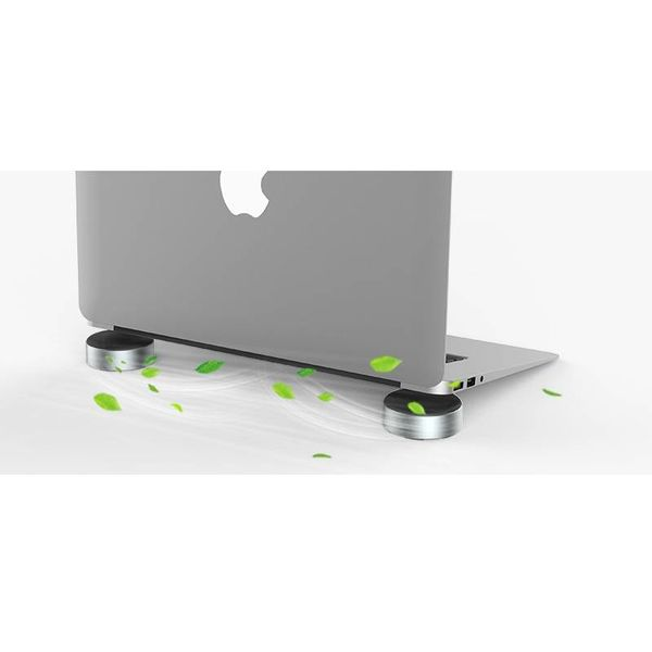 Orico Aluminum Laptop holders / Laptop booster - Better viewing angle - Good heat dissipation - Black / Silver
