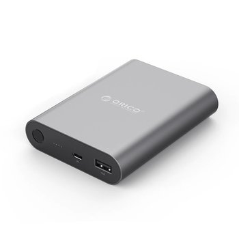 Orico Aluminum power bank 10400mAh - Quick Charge 2.0 - Sky Gray