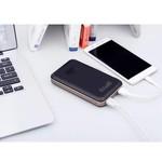Orico 12500mAh Power Bank - 1x Type-C input and output (5V-3A) - 2x USB Type-A Charge ports (5V-2.4A) - Li-Po battery - LED display - Black