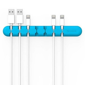 Orico Zelfklevende kabelhouder - organiseer tot 7 kabels van 5mm dik.
