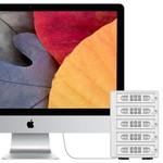 Orico Aluminium harde schijf behuizing voor 5 x 3.5 inch HDD/SSD schijven - USB 3.0 & eSATA - RAID - Mac Style - 150W - Incl. Voedingsadapter -  Zilver