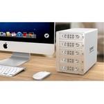 Orico Aluminium 3,5-Zoll-SATA USB 3.0 & eSATA - Silber
