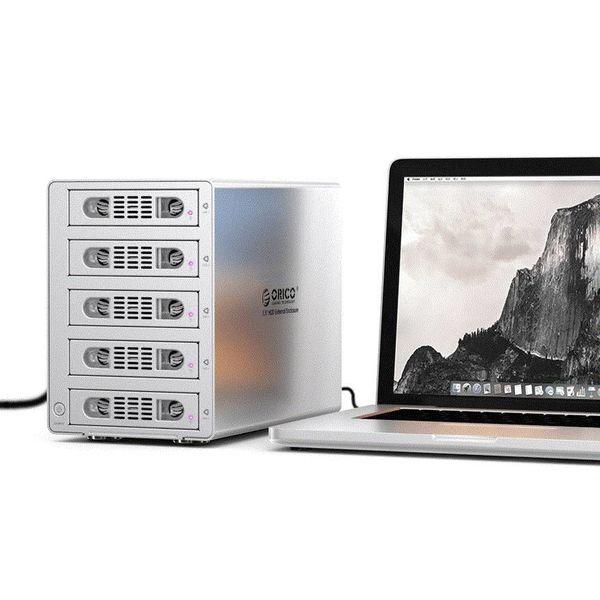 Orico Aluminum 3.5 inch SATA USB 3.0 & eSATA - Silver