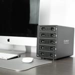 Orico Aluminium 3,5-Zoll-SATA USB 3.0 & eSATA - schwarz